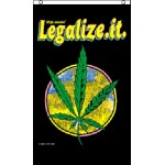 Marijuana Legalize It 3' x 5' Polyester Flag