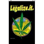 Marijuana Legalize It 3' x 5' Polyester Flag