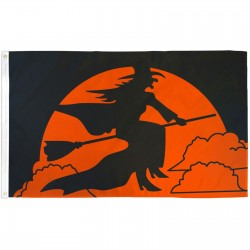 Witch Moon 3' x 5' Polyester Flag