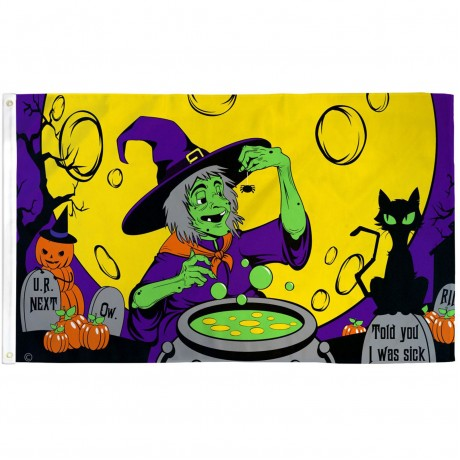Witch's Brew 3' x 5' Polyester Flag