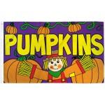 Pumpkins Scarecrow 3' x 5' Polyester Flag