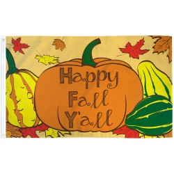 Happy Fall Y'all 3' x 5' Polyester Flag