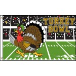Turkey Bowl Football 3' x 5' Polyester Flag