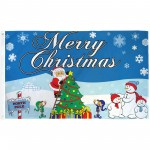 Merry Christmas North Pole 3' x 5' Polyester Flag