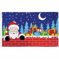 Christmas Eve Santa Presents 3' x 5' Polyester Flag