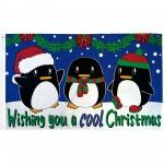 Wishing You A Cool Christmas 3' x 5' Polyester Flag