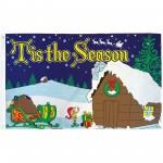 Tis The Season Christmas 3' x 5' Polyester Flag