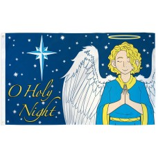 O Holy Night Christmas 3' x 5' Polyester Flag