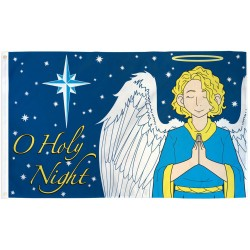 O Holy Night Christmas 3' x 5' Polyester Flag