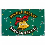 Jingle Bells Christmas 3' x 5' Polyester Flag