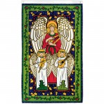 Joyous Angel Vertical Christmas 3' x 5' Polyester Flag