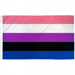 Gender Fluid Pride 3' x 5' Polyester Flag