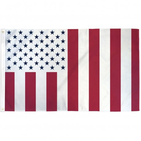 Civil Peace Vertical Stripes 3' x 5' Polyester Flag