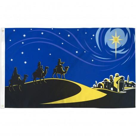 Bethlehem Christmas 3' x 5' Polyester Flag