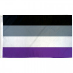 Asexual Pride 3' x 5' Polyester Flag