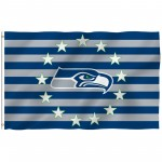 Seattle Seahawks Stars & Stripes 3' x 5' Polyester Flag