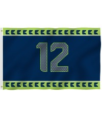 Seattle Seahawks 12th Man 3' x 5' Polyester Flag