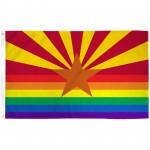 Arizona Rainbow Pride 3 'x 5' Polyester Flag