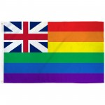 Hawaii Rainbow Pride 3 'x 5' Polyester Flag