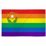 Nevada Rainbow Pride 3 'x 5' Polyester Flag