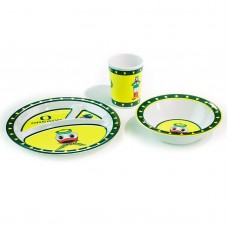 Oregon Ducks 3 Piece Kid's Dish Set