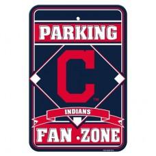 Cleveland Indians Parking Sign