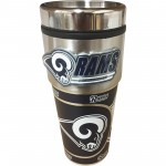 St. Louis Rams Travel Mug 16oz Tumbler with Logo