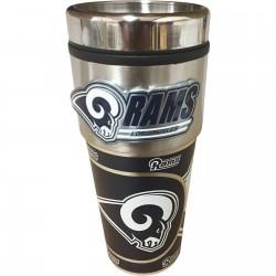 St. Louis Rams Travel Mug 16oz Tumbler with Logo