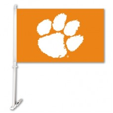 Clemson Tigers NCAA Double Sided Car Flag