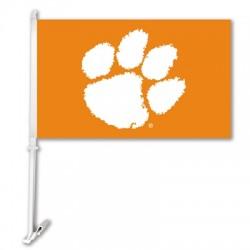 Clemson Tigers NCAA Double Sided Car Flag