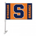 Syracuse Orangemen NCAA Double Sided Car Flag
