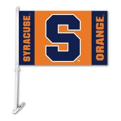 Syracuse Orangemen NCAA Double Sided Car Flag