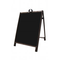 "36"" Hardwood A-Frame - Corex Black Panels"