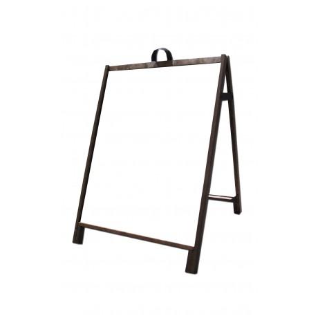 """36"""" Hardwood A-Frame - Acrylic White Panels"""