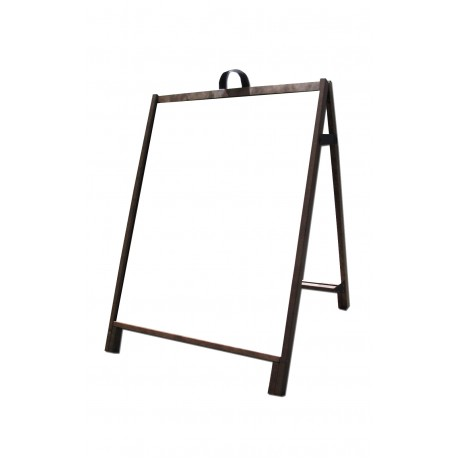 "36"" Hardwood A-Frame - Corex White Panels"