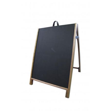 """36"""" Hardwood A-Frame - Chalkboard Black Panels"""