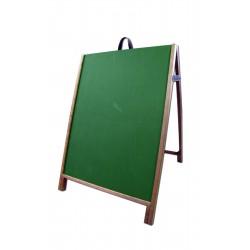 "36"" Hardwood A-Frame - Chalkboard Green Panels"