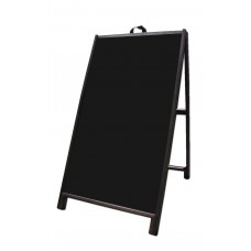 "48"" Hardwood A-frame - Corex Black Panels"