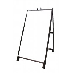 """48"""" Hardwood A-Frame - Acrylic White Panels"""