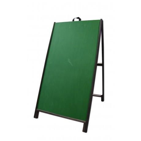 "48"" Hardwood A-Frame - Chalkboard Green Panels"
