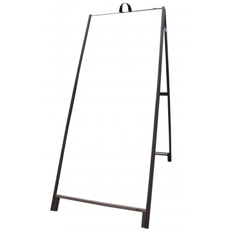"""60"""" Hardwood A-frame - Acrylic White Panels"""