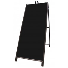 "60"" Hardwood A-frame - Corex Black Panels"