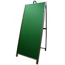 "60"" Hardwood A-frame - Chalkboard Green Panels"