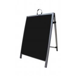"36"" Aluminum A-frame - Corex Black Panels"