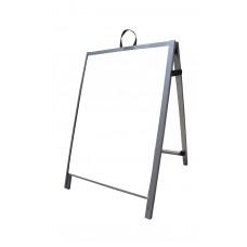 """36"""" Aluminum A-frame - Acrylic White Panels"""