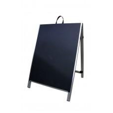 "36"" Aluminum A-frame - Chalkboard Black Panels"