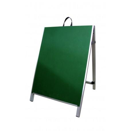 "36"" Aluminum A-frame - Chalkboard Green Panels"