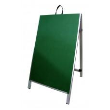 "48"" Aluminum A-frame - Chalkboard Green Panels"