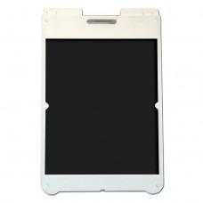 "25"" x 36"" Poly Plastic A-Frame - Acrylic Black Panels"