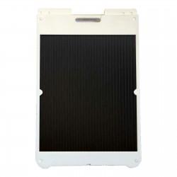 "25"" x 36"" White Poly Plastic A-Frame - Correx Black Panels"